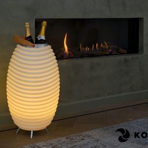 Enceinte Bluetooth lampe KOODUU